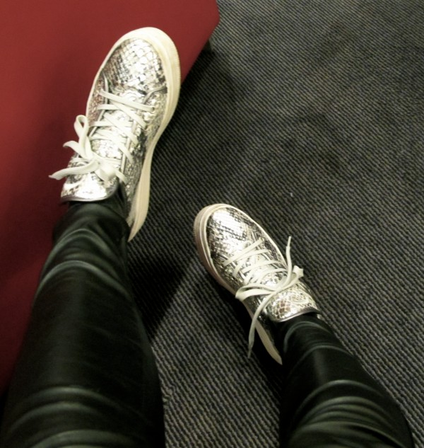 sko på hotell